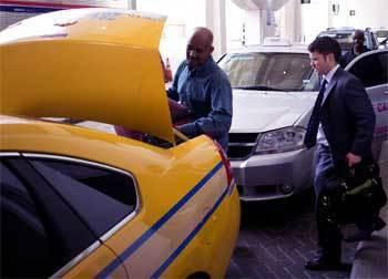 出租车司机的反应