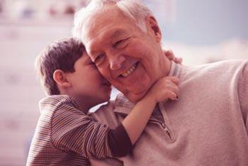 爷爷给孩子的教训