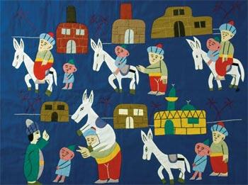 纳斯鲁丁和他的驴子的故事