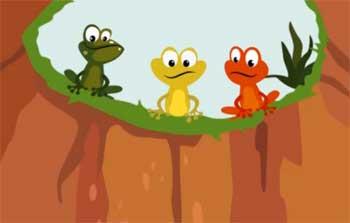 坑中的青蛙