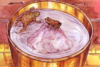 牛奶中的两只青蛙