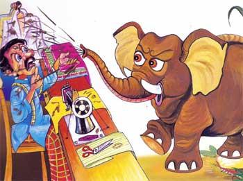 裁缝和大象