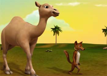 骆驼和狐狸