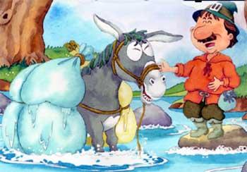 商人和他的驴