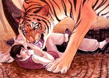 不感恩的老虎