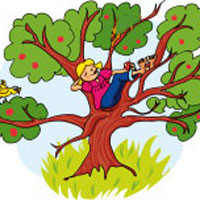 苹果树和农夫