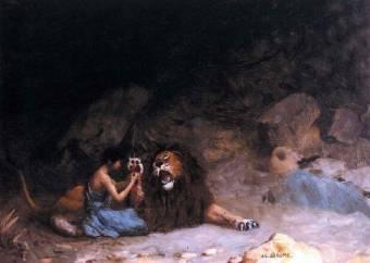 安德鲁克罗斯和狮子