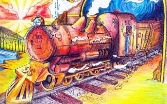 动物的火车冒险