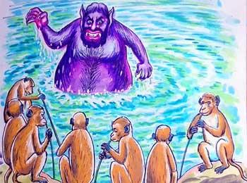美猴王和水魔