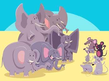 大象和小老鼠